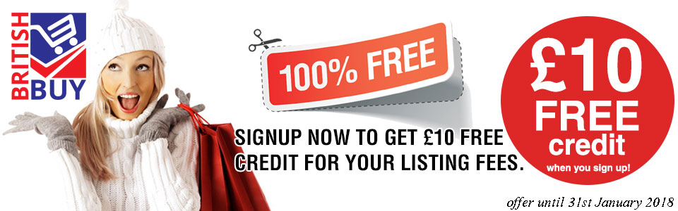 signup now to get £10 free credit