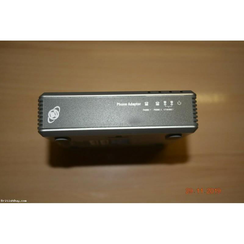 Brand new Unlocked-PAP2T-VOIP-Phone-Adapter